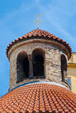 The upper part of the rotunda of the Holy Cross Royalty Free Stock Photo