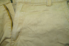 The upper part of the trousers Stock Image