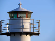 Upper parts of a lighthouse Royalty Free Stock Photo