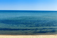 Upper Peninsula Beach Stock Photo