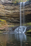 Upper Piney Falls Stock Photography