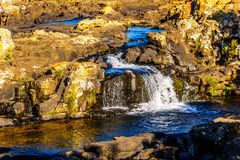 Upper portion of Lisbon Falls near God`s Window on the Panorama Route Stock Image
