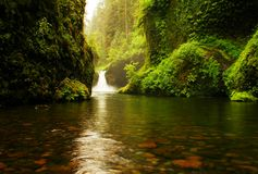 Upper Punch bowl falls Royalty Free Stock Photography