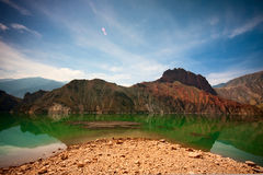 The upper reaches of Yellow River Royalty Free Stock Photo