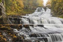 Upper Rensselaerville Falls royalty free stock photo