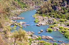 South Esk River - Launceston Royalty Free Stock Photo