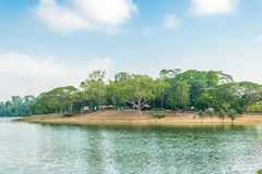 Upper Seletar. Water reservior at the Upper Seletar area in singapore Royalty Free Stock Images