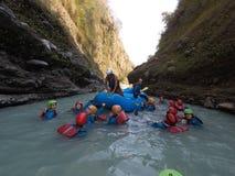 Upper seti gorge swim please. Photo take by raju with gopro camera it was good stock photos