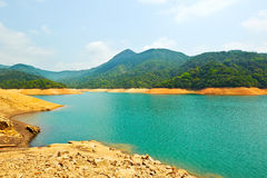 Upper Shing Mun reservoir Royalty Free Stock Image