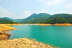 Upper Shing Mun reservoir Royalty Free Stock Image