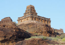 Upper Shivalaya Temple near Badami Stock Images
