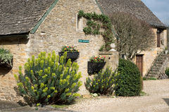 UPPER SLAUGHTER, GLOUCESTERSHIRE/UK - MARCH 24 : Scenic View of Royalty Free Stock Images