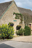 UPPER SLAUGHTER, GLOUCESTERSHIRE/UK - MARCH 24 : Scenic View of Royalty Free Stock Image