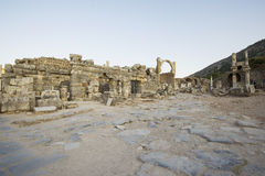 Upper Street ancient city of Ephesus. Stock Photography