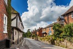 Upper Street Hollingbourne Stock Image