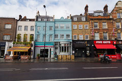 Upper Street in London Royalty Free Stock Photo