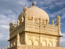 Upper structure Tipu Sultan Mausoleum, Mysore, India. Stock Photos