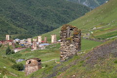 Upper Svaneti, Georgia. Svaneti (Suania in ancient sources) is a historic province in Georgia, in the northwestern part of the country. Svanetia is known for Stock Image