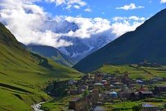 Upper Svaneti, Georgia. Ushguli - Upper Svaneti, Georgia. UNESCO World Heritage Sites Royalty Free Stock Image