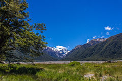 Upper Waimakariri River Royalty Free Stock Photography