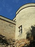 Upper Walls - Nottingham Castle royalty free stock photography