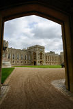 Upper Ward and State Apartments, Windsor Castle Stock Photo