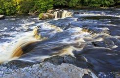 Upper Waterfall Aysgarth Royalty Free Stock Image