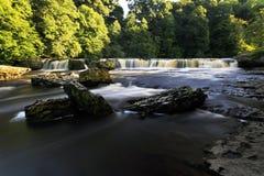 Upper Waterfall Aysgarth Royalty Free Stock Photography