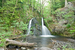 Upper Waterfall in the Fairy Glen. Stock Photography