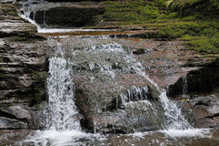 Upper Waterfall at Pwll-y-Wrach Stock Photography