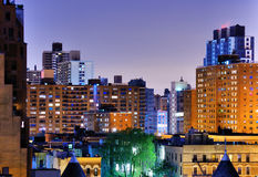 Upper West Side Apartments Royalty Free Stock Images