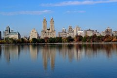 Upper West side on the fall Stock Photography