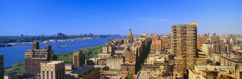 Upper West Side in  Manhattan, Royalty Free Stock Photos