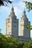 Upper West Side skyline from Central Park Royalty Free Stock Photography