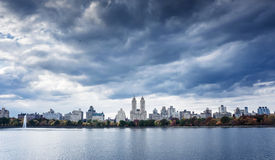 Upper West Side Skyline from Central Park, New York City Stock Photography