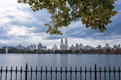 Upper West Side Skyline from Central Park, New York City Royalty Free Stock Photo