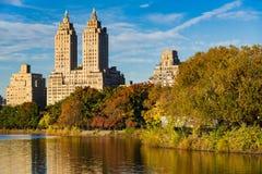 Upper West Side und Central Park im Fall, New York Stockbilder