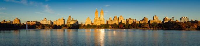 Upper West Side- und Central Park-Sonnenaufgang, New York City Stockbilder