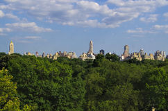 Upper West Side. View from the Central Park Royalty Free Stock Images