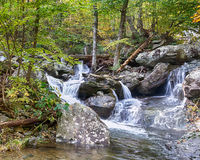 Upper Whiteoak Falls, Skyline Drive, Shenandoah National Park, VA Royalty Free Stock Photography