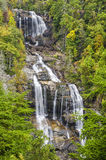 Upper Whitewater falls, North Carolina. Upper Whitewater falls in North Carolina is claimed to be the highest waterfall east of the Mississippi River Royalty Free Stock Photography