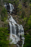 Upper Whitewater Falls in South Carolina Royalty Free Stock Photos