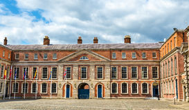Upper Yard of Dublin Castle Stock Photo