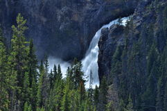 Upper Yellowstone Falls Royalty Free Stock Photo