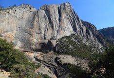 Upper Yosemite Fall - Dry Season Stock Photos