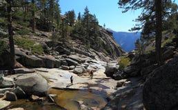 Upper Yosemite Fall Royalty Free Stock Images
