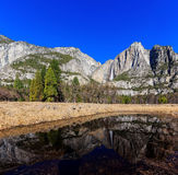 Upper Yosemite Fall, Yosemite National Park, California, USA Royalty Free Stock Photography