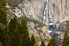 Upper Yosemite Falls Royalty Free Stock Photography