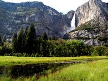 Upper Yosemite Falls Stock Photography