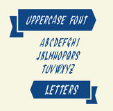 Uppercase english alphabet letters Royalty Free Stock Photo